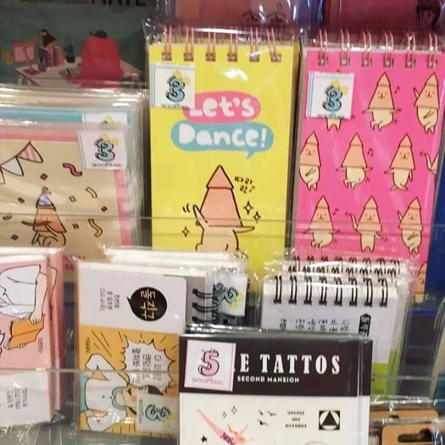 韓国で大人気なゆるキャラ♬オジンジンのメモ帳も販売され...