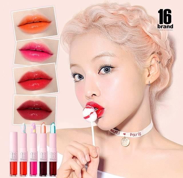 高発色なカラーがお気に入りの唇を作ってくれる♡