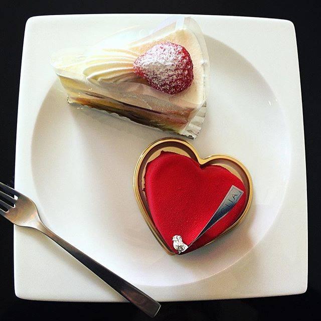 写真映えするケーキ