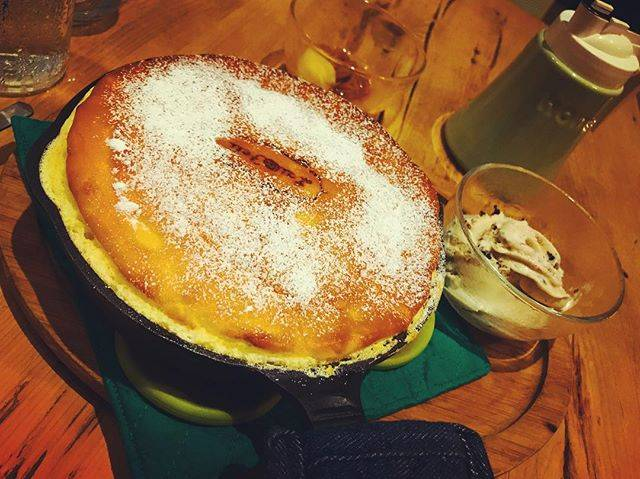 写真映えするパンケーキ