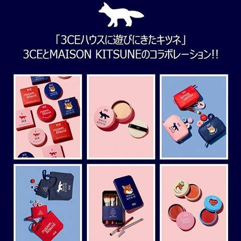 3CE×MAISON KITSUNE