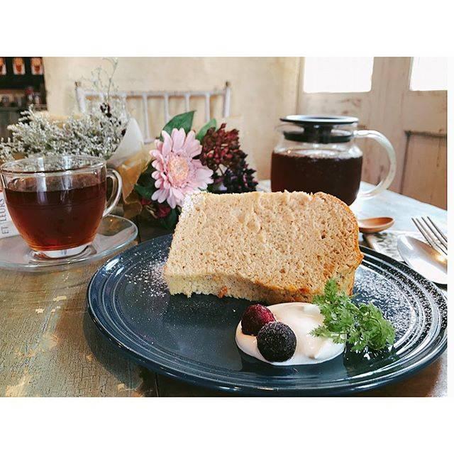 ふわっふわ♪ 紅茶シフォンケーキ