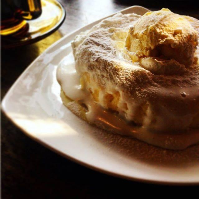 インスタ映えするパンケーキ