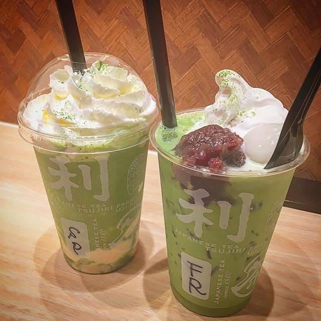 京ラテ®︎スムージー 豆乳プリンと京ラテ®︎フロート濃い茶
