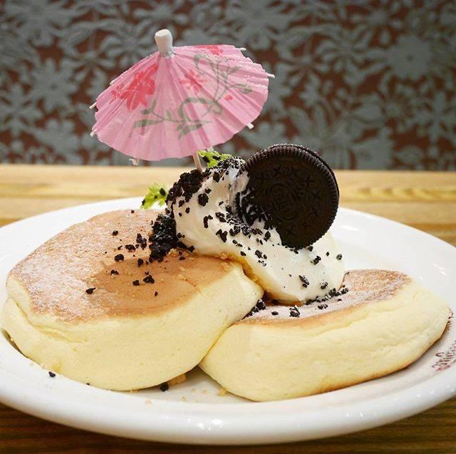 「クッキー&クリームパンケーキ~濃厚なミルククリームと...