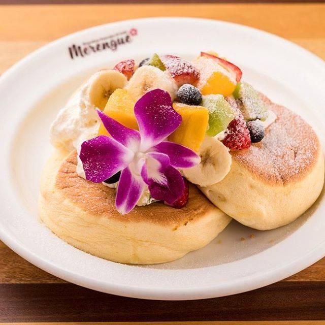 「ハワイアンフルーツパンケーキ」