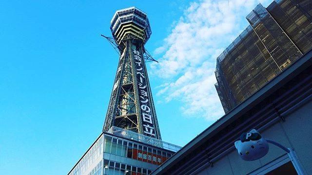 """ケンT on Instagram: """"観光客の女の人が 話しかけてきた。 『すいません、通天閣てどこですか?』 『え、あれです!』 『え?あの社会イノベーション日立って書いてある建物より右ですか?左ですか?』 『イヤそれです!』 『え…これが通天閣ですかΣ(゚д゚lll)??』…"""" (51437)"""