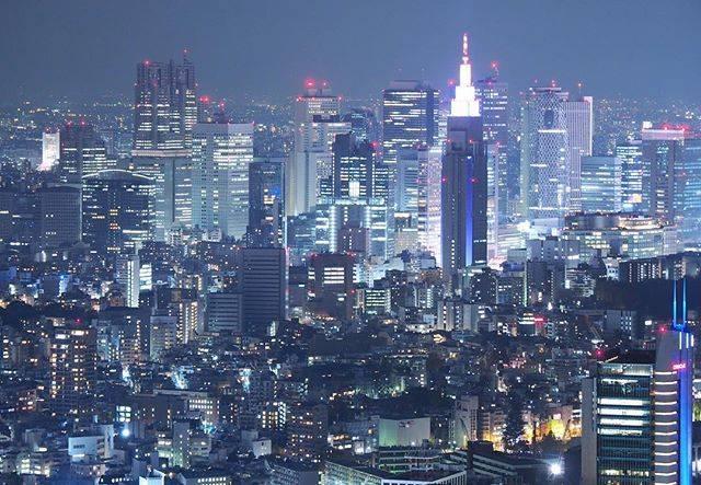 東京のきれいな夜景も☆