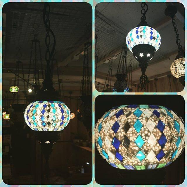 ブルー系のクールなランプたち♥