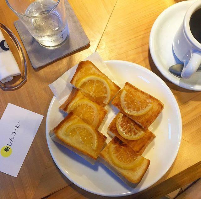 開店以来、注目されているレモントーストは絶対食べてみて☆