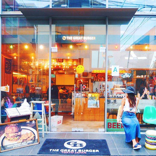 """@ _ c a f e l o v e r _ on Instagram: """"THE GREAT BURGER // harajuku . 原宿駅から徒歩10分弱 キャットストリートにある ハンバーガー中心のお店 味も本格的で美味しいのはもちろん、 アメリカンテイストの店内が魅力的♡ 大人気の為、平日夕方前がオススメ! .…"""" (52949)"""