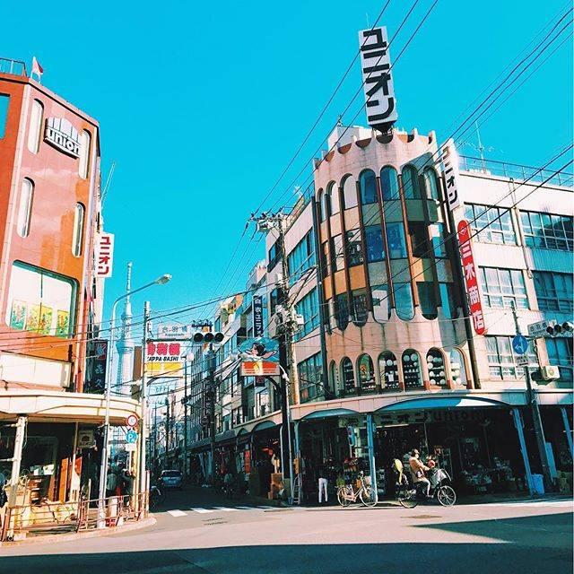 "@baronnebaba on Instagram: "".合羽橋道具街このあたりは徒歩圏内 👍🏻"" (54355)"