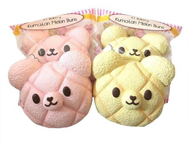 "Sana on Instagram: ""Kumatan Melon Bun jumbo in stock!!! So cute and squishy! 😍 $21.99"" (56908)"