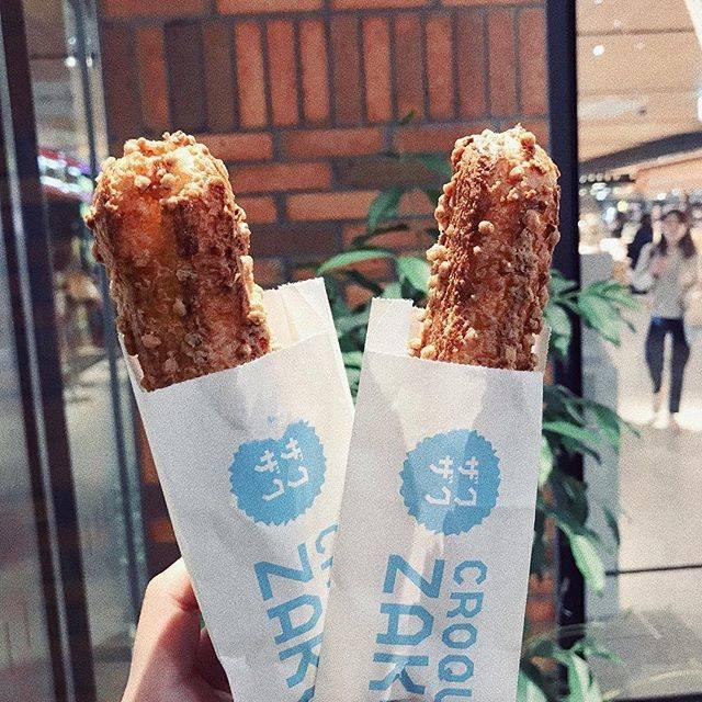 "− LICCA − on Instagram: ""ザクザク ✴︎✴︎✴︎ . . #croquantchouzakuzaku#🍦💦#zakuzaku#yummy #yum#sweet#creampuff #instagram#instalike#instagood#instafood . . #並んでよかった  #超ザクザク…"" (58419)"