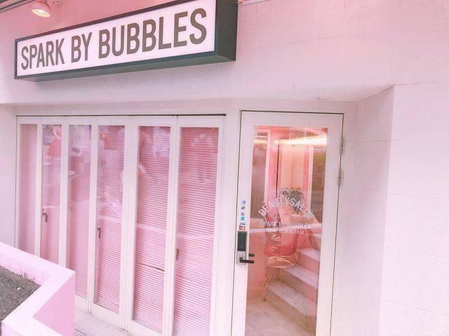 "❤︎ kana ❤︎ on Instagram: ""♡♡Cute Salon ♡♡ 裏原歩いてたら可愛いサロン発見~!!!内装まで可愛かった\( ˆoˆ )/\( ˆoˆ )/💕 #harajuku #salon #cute #美容学生 #裏原 #pink #sparkbybubbles #bubbles #インスタ映え…"" (58530)"