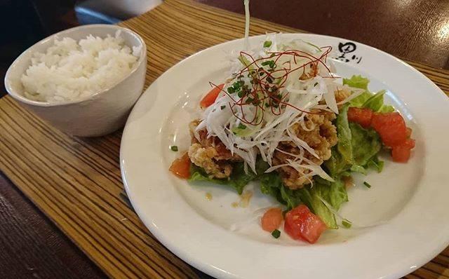 "Takao Imafuji on Instagram: ""若鶏の甘酢和え定食#黒川食堂"" (60391)"