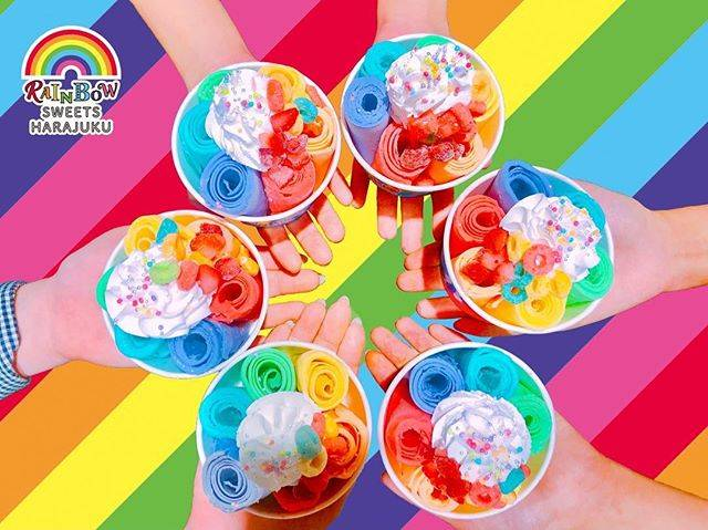 "RAINBOW SWEETS HARAJUKU on Instagram: ""5/23(水)原宿竹下にグランドオープン🎉  レインボースイーツ専門店🌈 『RAINBOW SWEETS HARAJUKU』🌈🌈🌈 場所は、カラフルわたあめのお店TOTTI CANDY FACTORYの下です✨  #rainbowsweetsharajuku…"" (60468)"