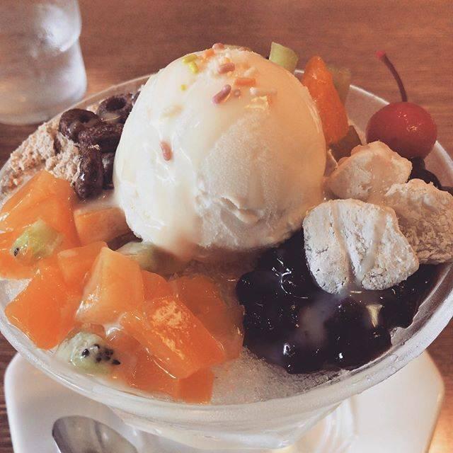 """今山 豪貴 on Instagram: """"パッビンス! お店も落ち着いた雰囲気で良かった! #新大久保カフェ #韓流茶房"""" (60666)"""