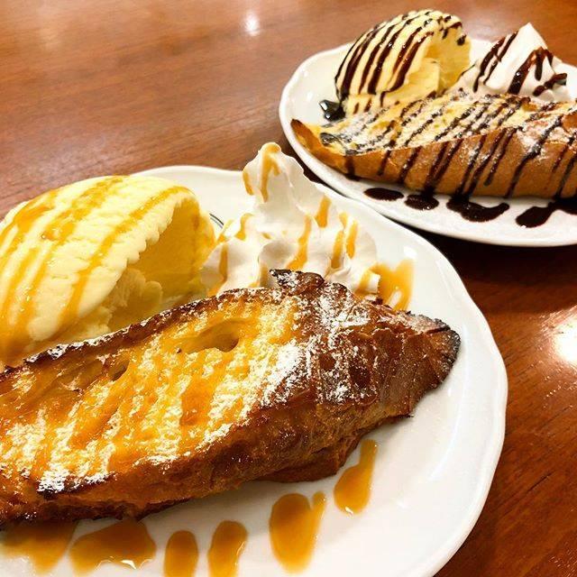 """ROBERTS_COFFEE 福岡大名/ロバーツコーヒー on Instagram: """"☕︎おはようごさいます。今日は9:00〜23:00でお待ちしてます。ただいまフレンチトースト焼けてます!素敵な朝の始まりにしませんか??🍴❣️・今日も素敵な一日を☺︎*#フレンチトースト #frenchtoast"""" (61195)"""