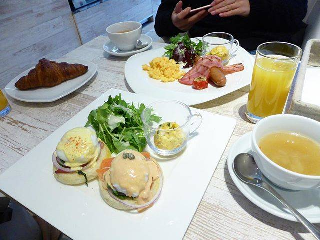 "みずき on Instagram: ""・morning🌞オシャレで美味しかった☕️・#yokohama #morning#instafood #l4l"" (61708)"