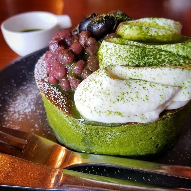 "Kyoto Sweets Supporter on Instagram: ""雪の下 京都本店(三条油小路)のパンケーキ(Matcha & Red Been)。京都店、リニューアルしてオーダー方法が変わっちゃいました… The marcha and red been pancake at Yukinoshita Kyoto (Sanjo…"" (62443)"