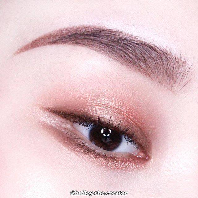 "hailey  |  헤일리 on Instagram: ""☕️🍼✨ • @etudehouseofficial Eyeshadow #카페라떼우유많이 @narsissist Illuminating loose powder Orgasm • 카페라떼 우유많이 넓게 깔고 그 위에 오르가즘 일루미네이팅 루즈파우더를 톡톡!!…"" (64182)"