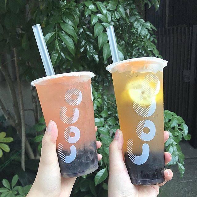"""@__ayk.53 on Instagram: """"そして2軒目 #coco都可 #レモンキング タピオカ入にしました!多すぎて吸いきれなかったよ、、暑い日は氷多めをオススメします🌬❄️#なかおか卍 #なかおか卍 #なかおか卍"""" (64948)"""