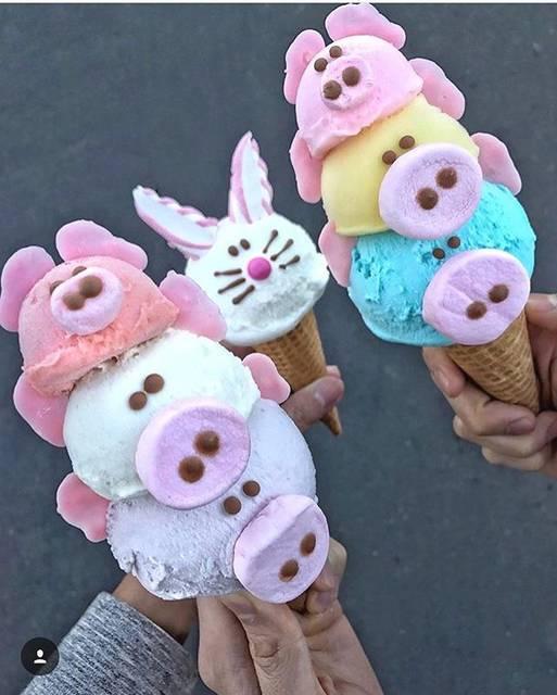 "EISWELT GELATO HARAJUKU on Instagram: ""人気の3匹の子ブタ🐷🐷🐷 Get 3 piggy 🐷🐷🐷 +++++++++++++++++ 東京都渋谷区神宮前1-8-5 1F Open: 10:00~20:00  #EISWELTGELATO  #アイスウェルト #EISWELTGELATOHARAJUKU…"" (67066)"