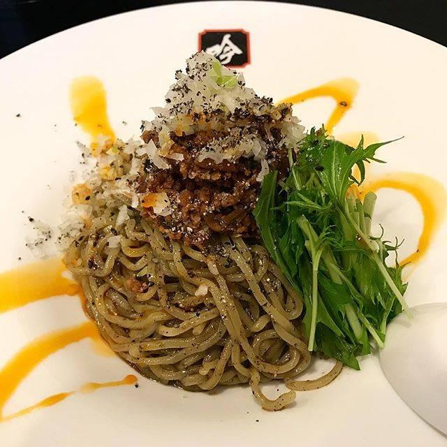"Katsu on Instagram: ""冷やしが定番メニューにあるっていいな😋#ラーメン#冷製黒担々麺#吟#仙台市#麺スタグラム"" (67594)"