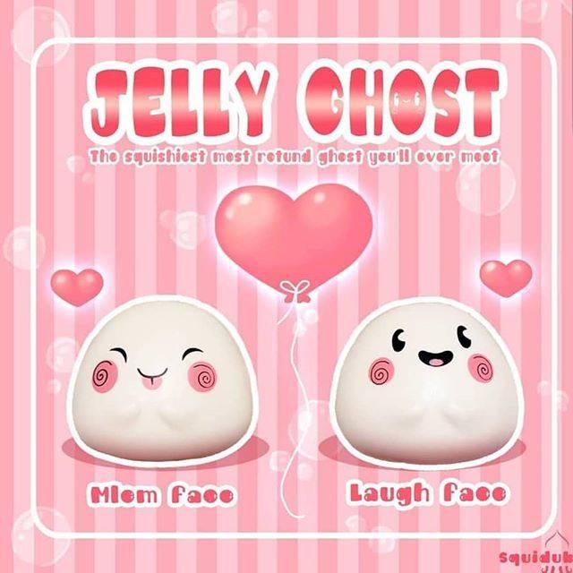 "Squishies n Giftshop 🇹🇭💖 on Instagram: ""Jelly Ghost...หอมมากๆๆ หอมกลิ่นมินท์จ้า....รุ่นลิมิเต็ดนะคะ มีน้อยมากจ้า💕  Jelly Ghost  แบรนด์ Squidub_squishy มี2ลายนะคะ.. **Limited**…"" (68445)"