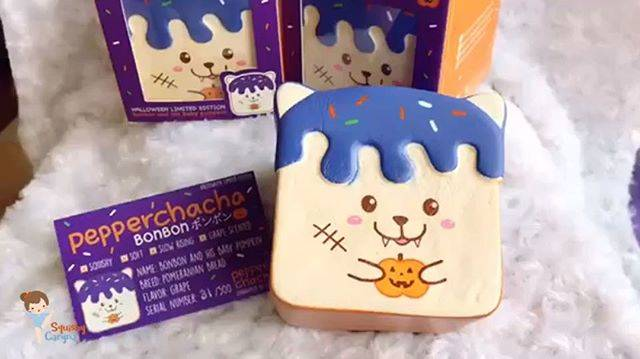 "SquishyCaryna | Mangoey on Instagram: ""Halloween Limited Edition BON BON😜😜 •super adorable edition. •product by @pepperchacha. •extremely slow rising & soft . ♡Price will be…"" (68447)"