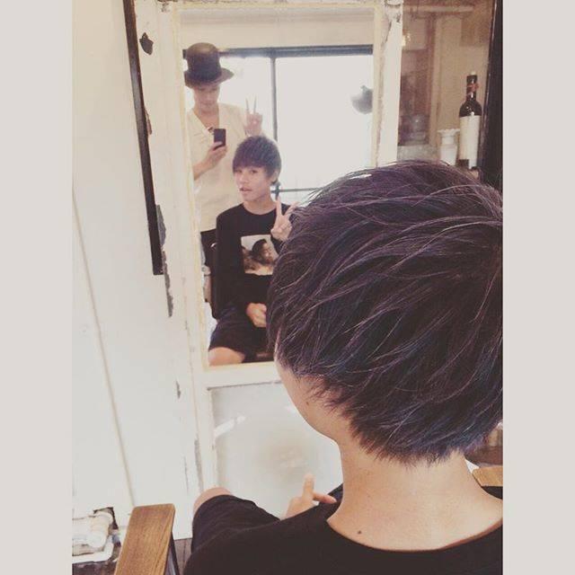 """Inagawa Jun® on Instagram: """"代官山でカネキ君ヘアーカット!!ありがとうございます!Got Kaneki hair cut✂️💇 what do u guys think?#カネキ #東京喰種 #Kaneki #tokyoghoul"""" (69098)"""