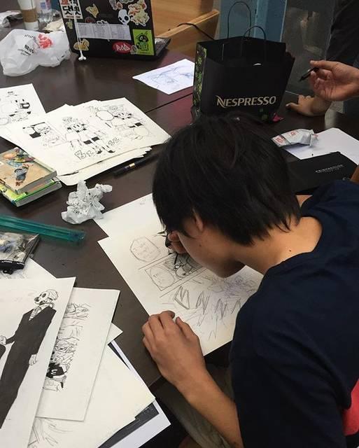 """Inagawa Jun® on Instagram: """"Me everyday...毎日毎日毎日毎日 漫画漫画漫画!!!!!"""" (69105)"""