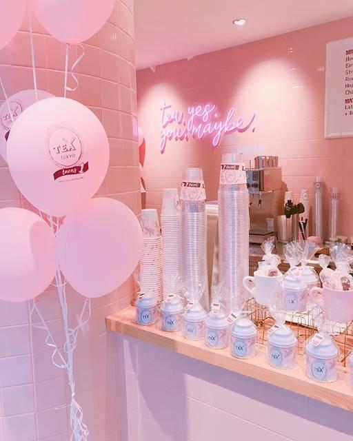 "Chiho🌸 on Instagram: ""めっちゃ可愛いカフェ🍰💗 . . 渋谷ひとりショッピングしたあとに みさとカフェ行ったよ〜〜😋💕 . . . #alfredtearoom #tea #pink #cafe #pinkcafe #tokyo #instagood #instacafe #カフェ #ピンクカフェ…"" (69337)"