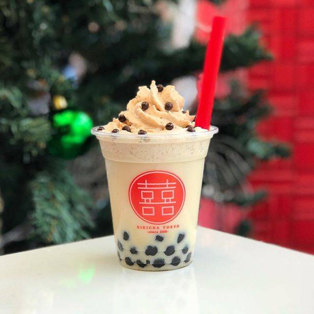 """-台湾茶とタピオカ- KIKICHA TOKYO on Instagram: """"❤︎おすすめの組み合わせ その3❤︎ . こんにちは KIKICHA TOKYOです! 本日は今季一番の冷え込みだそうですね❄️ 店内にも数日前からクリスマスツリーを飾り始めました🌲 今からクリスマスがとっても待ち遠しいです🎅🏻🌟 .…"""" (69894)"""