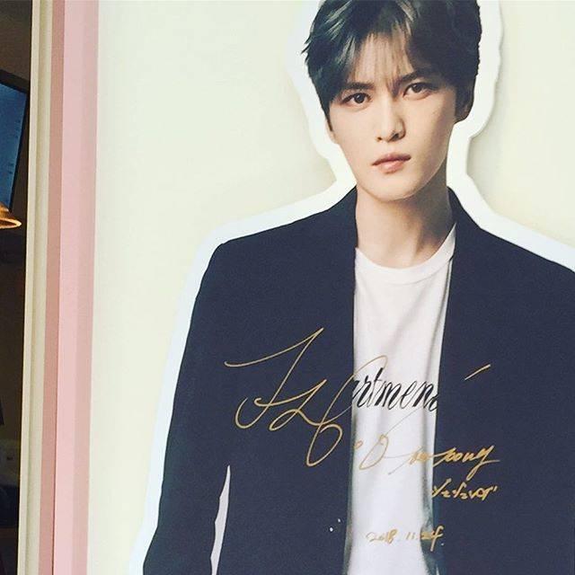 """tomo__jj on Instagram: """"@jj_1986_jj #jaejoong #JJ#KAVE#cafedekave#新大久保"""" (70063)"""