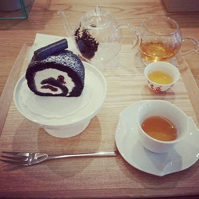 "@ainumaru on Instagram: ""何杯もお茶飲んじゃった笑#掌tearoom #中国茶"" (70129)"