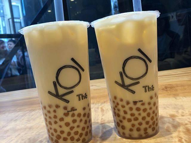 """たぴおぐらむ on Instagram: """"🥤ーパールタピオカ烏龍ミルクティー ・ 📍KOI the ( Omotesando ) ・ 💴 830(税込) ・ ⚠️ 甘さなし、氷少なめ、ラージ ・ ✏️ 私が世界で一番大好きなKOIがついに東京にも進出!本日11/23からオープンでした!KOI the 通称KOI…"""" (70185)"""