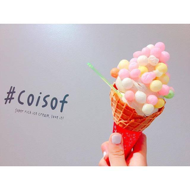 """アイリ on Instagram: """"・・高校生活最後のテスト終了⭐︎・#アイス #過去pic #いつかの  #coisof #原宿カフェ #おいりソフト #ソフトクリーム #いいね返し #instagood #yummy #lfl #l4l"""" (70677)"""