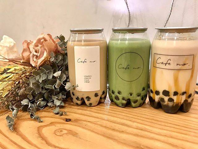 "@cafe_no_ on Instagram: ""【new product】 . . . ◎tapioca  bottle ・kuromitu tapioca ・green tea tapioca ・coffee  tapioca  本場台湾から直輸入し、 独自の方法でひとつひとつ丁寧に炊き上げております。…"" (71123)"