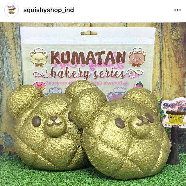"Sana on Instagram: ""Omg! Kumatan gold melon bun is in Indonesia 🇮🇩 also 😍 please check out @squishyshop_ind ❤️❤️❤️"" (71442)"