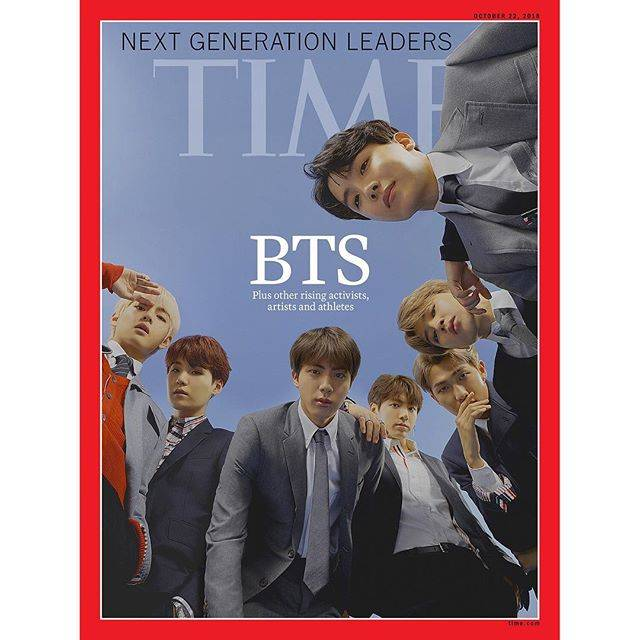 "TIME on Instagram: ""Like the Beatles and @onedirection before them, @bts.bighitofficial serves up a mania-inducing mix of heartthrob good looks and earworm…"" (71527)"
