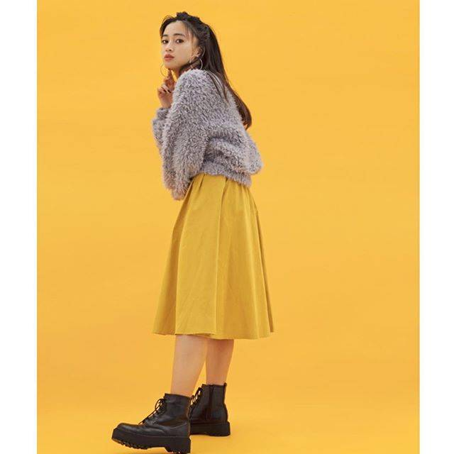 "WEGO on Instagram: ""-WEGO WINTER SALE-MAX70% OFF!!✔︎satin tuck flare skirt ¥1,990+tax@kurumi_0125_#wego#ウィゴー#ladies#wintersale"" (72231)"