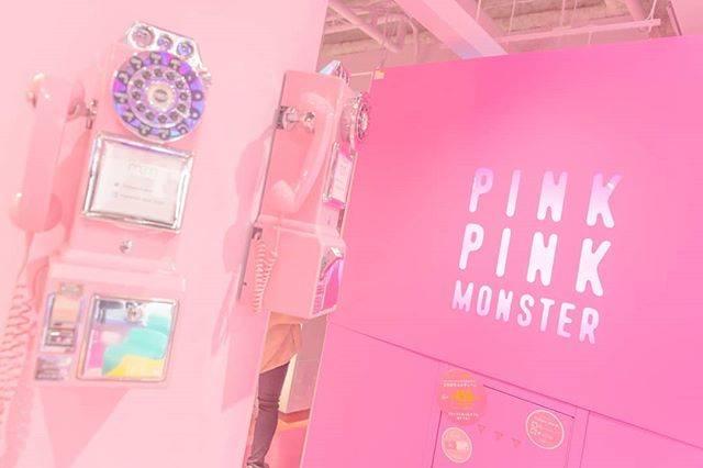 "yukilingg on Instagram: ""元旦にして一年分のピンクを見たきがする  #morerumignon #電話 #公衆電話 #電話ボックス #イクスピアリ #ピンク #pinkpinkmonster #pinkpinkpink #pink #cute #ディズニー #正月 #元旦 #風景 #景色…"" (73027)"