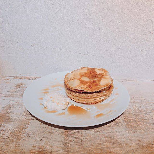 "まるこ / Mariko Takatori on Instagram: ""#pancakes #cafe #8jours #shimokitazawa #시모키타자와 #일본여행 🥞🐝"" (73923)"