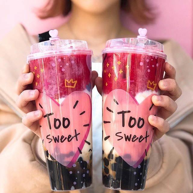 "LeaLea Tea on Instagram: ""明日Lサイズのカップ復活します🥤#lealea #タピオカミルクティー #lealea_tokyo #lealeatea #原宿カフェ#原宿#インスタ映え"" (75732)"