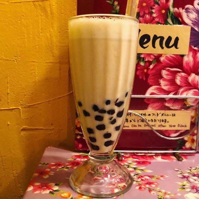 """#タピオカトワ の中の人 on Instagram: """"大阪アメ村『味庵茶坊』  ジャスミンミルクティー🥤 ¥500  甘さが選べる。 eat inは台湾料理屋さん。ごはんも美味しい!持ち帰りと値段は少し変わります。  #tapiocamilktea#…"""" (76152)"""