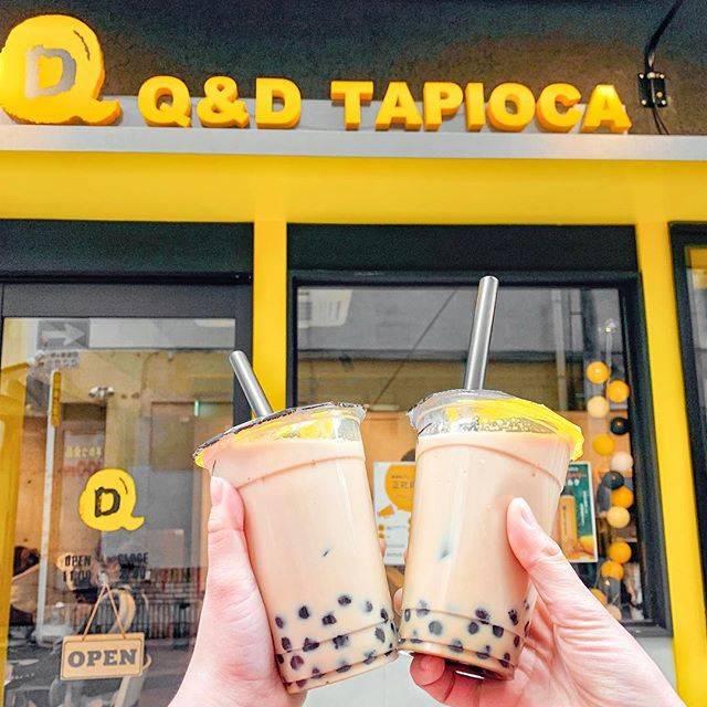 "m a y u on Instagram: ""💛💛💛💛💛    お目当てのタピオカ屋さんが閉まっていたので 急遽 前から気になっていた タピオカ屋さんへ🙋♀️♥️  ストロベリーとマンゴーはボトルで 出てくるみたいやから 次はそれを飲んでみたい🥰    #大阪カフェ #大阪カフェ巡り…"" (76873)"