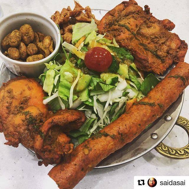 """心斎橋BIGSTEP on Instagram: """"#Repost @saidasai with @get_repost・・・インド料理屋に肉食用のプレートがあるとは(°▽°)/ ✨ #心斎橋ランチ #R&D #ビッグステップ #bigstep"""" (76930)"""