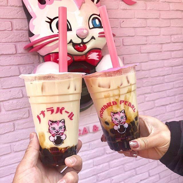 "TOKUPON_CAFE on Instagram: "".大阪も新店舗が続々と。タピオカラッシュ..話題のお店は並ぶの必須..女子よりもカフェ巡りしてる男子🤔..#ノナラパール#大阪カフェ#タピオカ#アメ村"" (77073)"